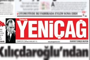 Yeniçağ gazetesinden Hürriyet'e destek!