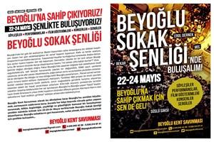 Beyoğlu'nda 3 günlük 'Sokak Şenliği' başlıyor!