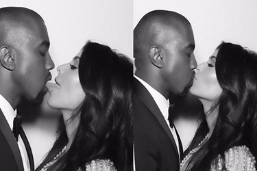 Kardashian'ın dilli öpücüğü ortalığı karıştırdı
