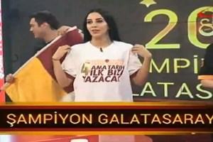 Galatasaray'dan Fenerbahçe'ye tişörtlü gönderme