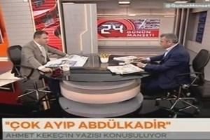 Cem Küçük'ten Selvi'ye: Ethem Sancak'ı eleştirmen Erdoğan'ı eleştirmektir!