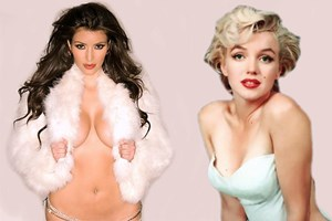 Kim Kardashian Marilyn Monroe oldu!