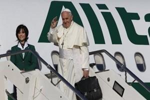 Erdoğan 'Papa'nın uçağı var' dedi, gazeteciden itiraz geldi!