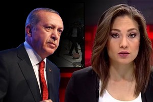 Erdoğan CNN Türk spikeri Nevşin Mengü'ye yüklendi!