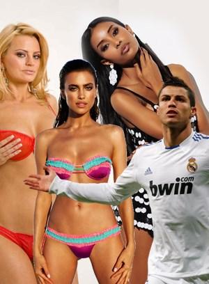 Ronaldo, Irina'yı hangi isimlerle aldattı?