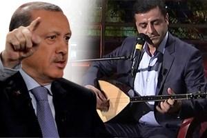 Erdoğan'dan Demirtaş'a: Bir pop star çıkardılar, sesi de güzelmiş!