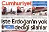 Cumhuriyet gazetesi bombayı patlattı! İşte dünya gündemini sarsacak görüntüler!