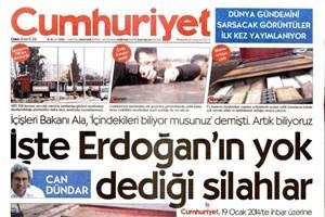 Cumhuriyet'in manşetine hükümet yanlısı medyadan ilk tepki: Gazeteci kisvesi kurtarmaz, içeri tıkmalı!
