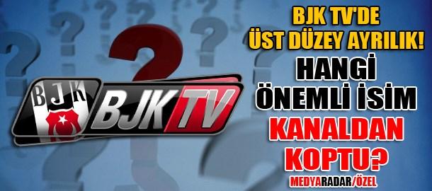 BJK TV'de üst düzey ayrılık! Hangi önemli isim kanaldan koptu? (Medyaradar/Özel)
