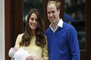 Dünyanın beklediği bebekten ilk kare