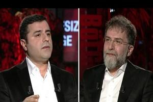 Ahmet Hakan'dan Barlas göndermeli Demirtaş cevabı: Biz bal gibi adamsın diye yavşamadık!
