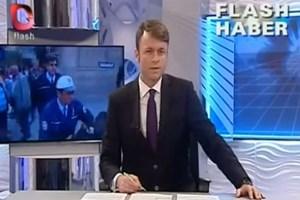 Flaş TV spikerinden polise düello teklifi