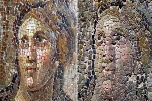 'Botokslu mozaikler'  ziyaretçilere kapatıldı