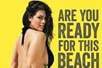 Plaj vücudu reklamına ünlü modelden tepki: Saklayacak hiçbir şey yok!