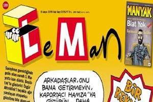 1 Mayıs olayları LeMan'ın kapağında!