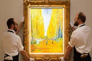Van Gogh'un eserine 66 milyon dolar!