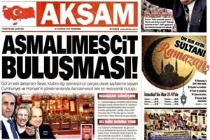 Akşam'dan Ahmet Sever iddiası! İki önemli Genel Yayın Yönetmeni ile buluştu!