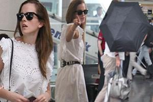 Emma Watson'ın İstanbul tatili olaylı bitti!