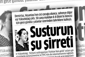 Sosyal medyadan Figen Yüksekdağ'a destek, Star'a tepki!