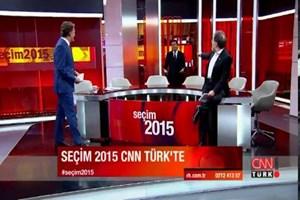 Cüneyt Özdemir stüdyoyu bastı!