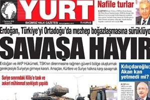 Yayına 1 gün ara veren Yurt gazetesi bu açıklamayla çıktı!
