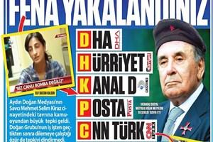 Güneş'in 'kızıl bereli' Aydın Doğan manşetine 12 yıl hapis!