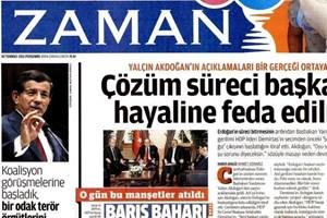 Zaman, iktidar medyasına eski manşetleriyle yüklendi!