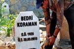 Bedri Koraman'ın kabrinin yeri değiştirildi!