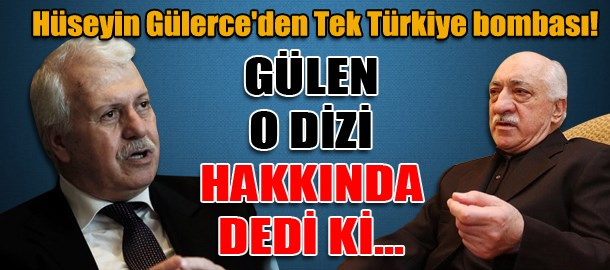 Hüseyin Gülerce'den Tek Türkiye bombası! Gülen o dizi hakkında dedi ki...