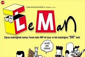 Yunanistan'daki 'OXİ' Leman'a kapak oldu!