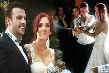 Ünlü dizi oyuncuları evlendi!