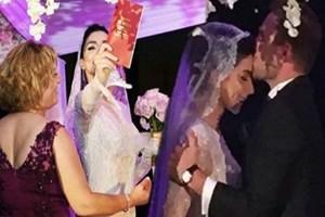 Murat Dalkılıç ve Merve Boluğur evlendi!