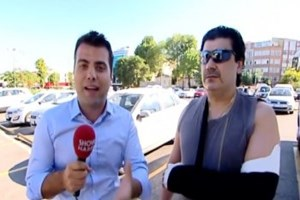 Aksaray'da esnafı döven İrlandalı turist konuştu!