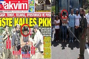 Takvim'in manşeti yine fotoşop çıktı; intihar yeleği giydirdikleri kadın otobüs yolcusuymuş!