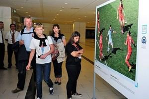 Anadolu Ajansı'nın sergisi Antalya'da açıldı