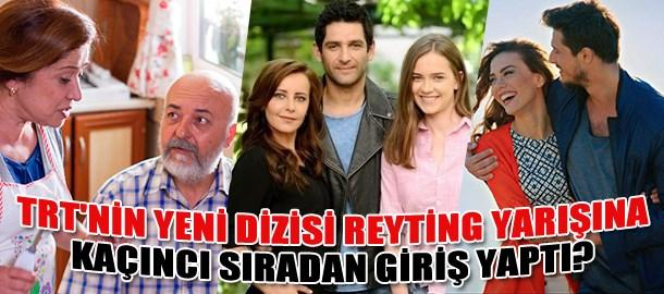 TRT'nin yeni dizisi reyting yarışına kaçıncı sıradan giriş yaptı?