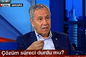 Arınç'tan NTV spikerine: Boşuna çabalama Ahmet!