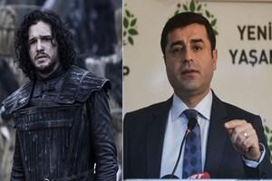 FT: Genç Türkler Demirtaş'ı Jon Snow'a benzetiyor!