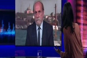 Ertuğrul Kürkçü'ye BBC muhabirinden zor sorular