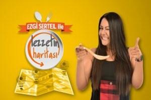 Ezgi Sertel ile Lezzetin Haritası yeni kanalında start verdi!