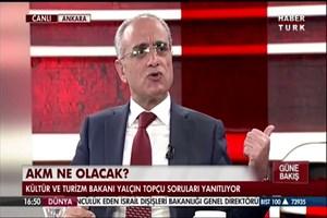 Kültür Bakanı soruyu anlayamadı: Haaa Taksim'deki AKM'yi...