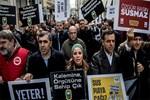 Gazetecilerden 'Gazeteciler Gününü Kutlamıyoruz´ eylemi