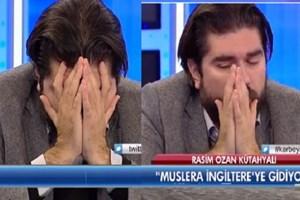 Rasim Ozan Kütahyalı ağlayarak stüdyoyu terk etti