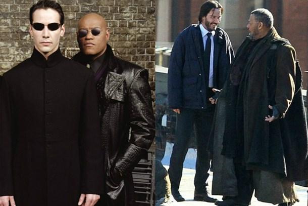 Neo ve Morpheus yeniden bir arada!