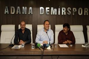 Adana Demirspor'da İpekoğlu dönemi başladı