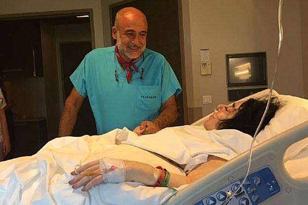 Nur Yerlitaş'ın ameliyat sonrası ilk fotoğrafı!