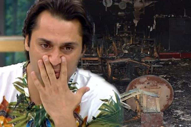 Çılgın Sedat'ın gece kulübü yandı, hayalleri kül oldu