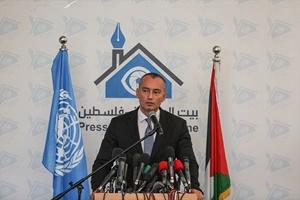 BM Ortadoğu Barış Süreci Özel Koordinatörü Mladenov Gazze'de