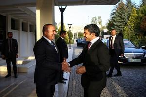 Çavuşoğlu-Al Nahyan ortak basın toplantısı