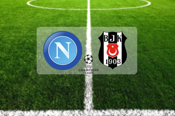 Napoli-Beşiktaş maçı saat kaçta, hangi kanalda?